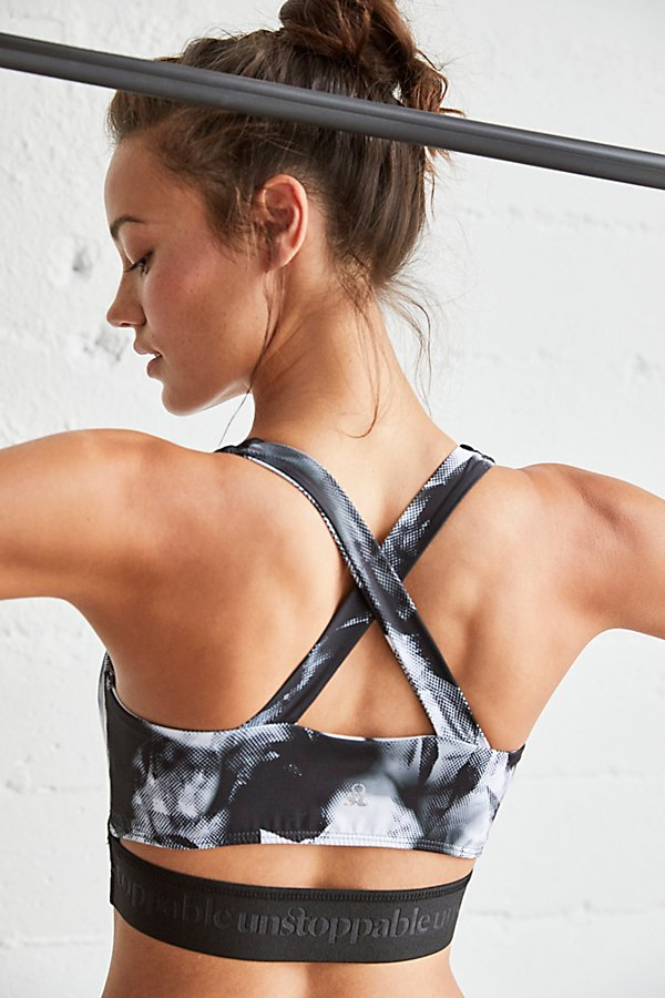 Slide View 3: The Unstoppable Kinzie Printed Bra