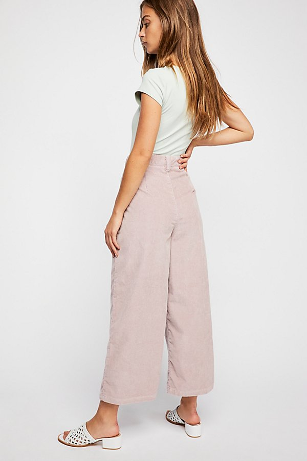 Slide View 4: Dawn to Dusk Cropped Cord Pants