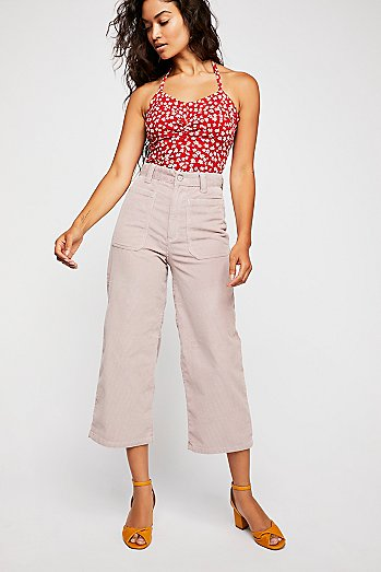 Dawn to Dusk Cropped Cord Pants