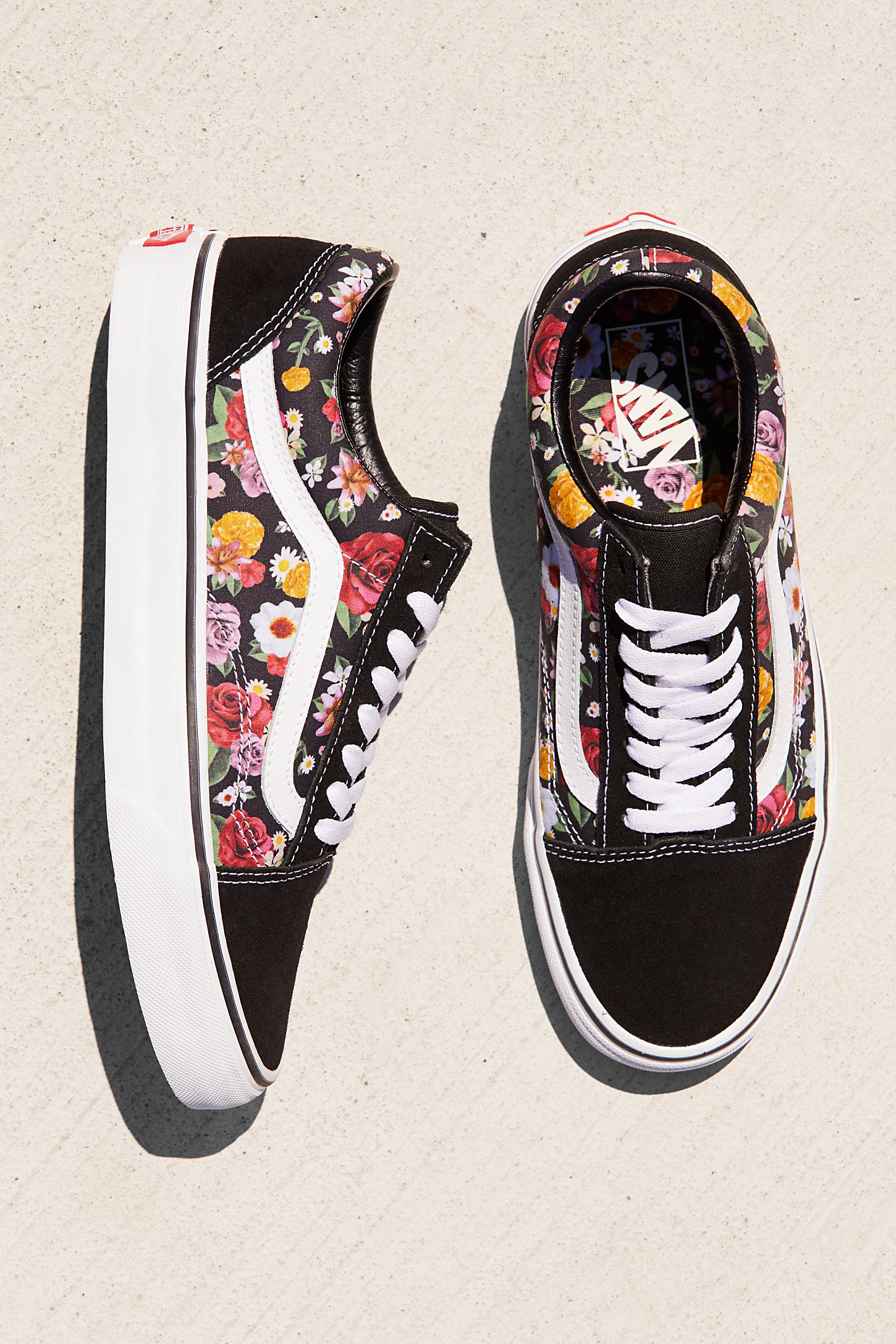 Old Skool Lux Floral Sneaker | Free People