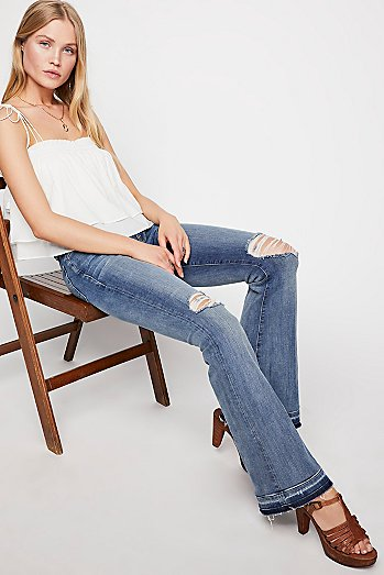 Etienne Marcel Let Out Hem Jeans