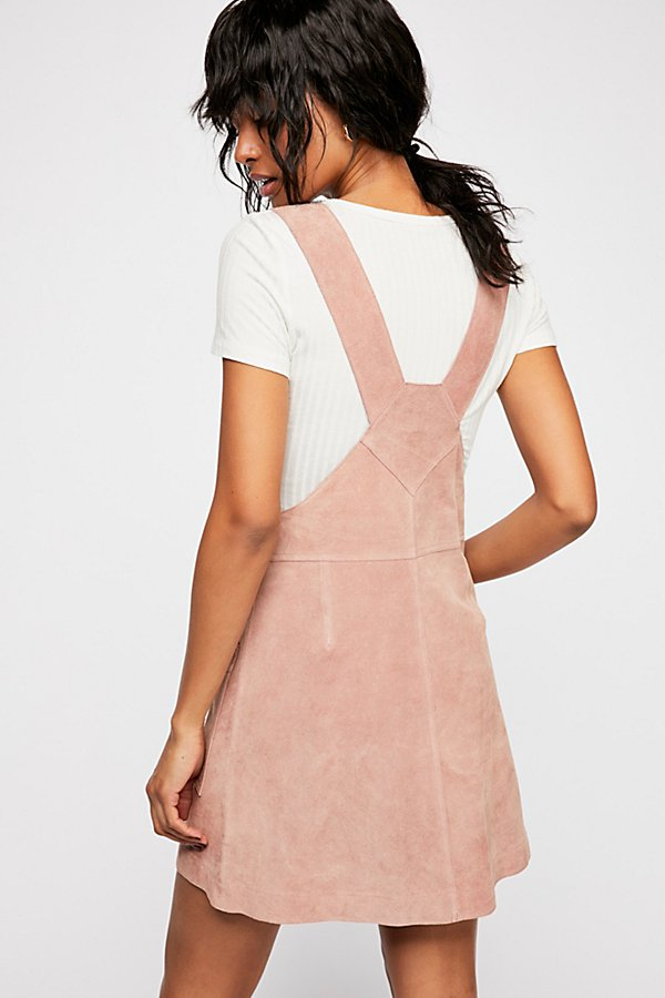 Slide View 2: Canyonlands Suede Pinafore Dress
