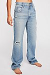 Thumbnail View 4: 3x1 Addie Loose Fit Jeans