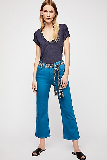 3x1 Shelter Wide Leg Crop Jeans