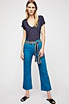 Thumbnail View 1: 3x1 Shelter Wide Leg Crop Jeans