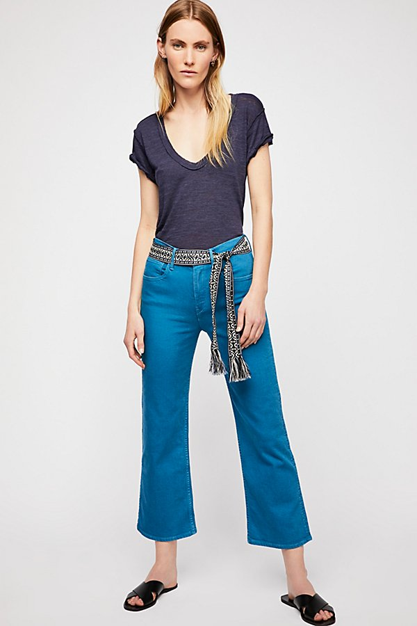 Slide View 1: 3x1 Shelter Wide Leg Crop Jeans