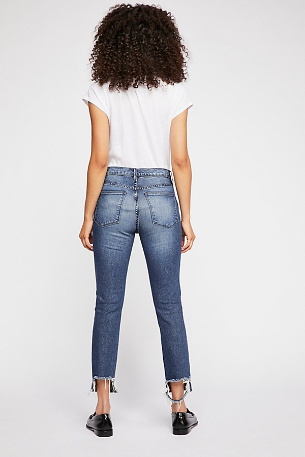 Slide View 2: 3X1 Straight Authentic Crop Jeans