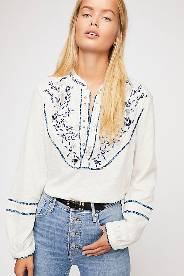 Sundance Kid Henley Top | Free People
