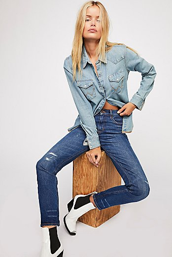 Scotch & Soda High Five Cropped Jeans
