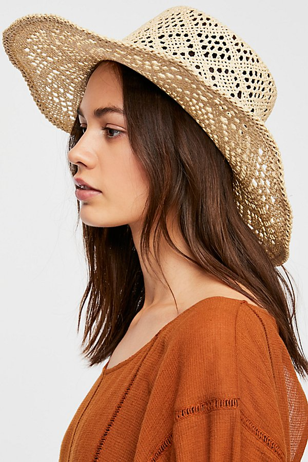 Slide View 2: Shadow Play Sun Freckle Straw Hat