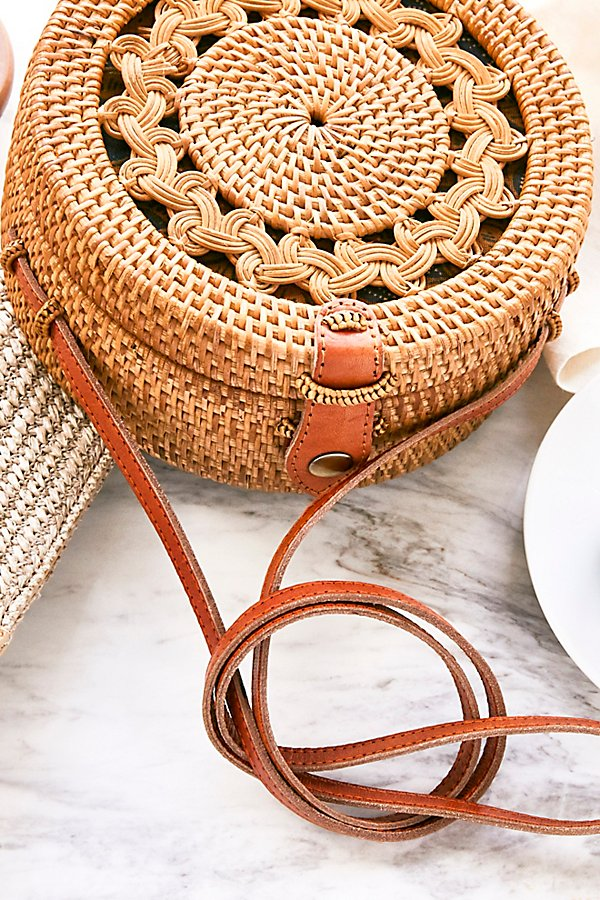 Slide View 1: Batik Rattan Crossbody