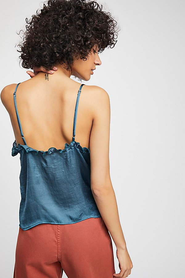 Slide View 2: Ruffle V-Neck Cami