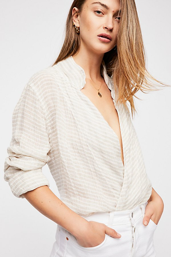 Slide View 1: Star Stripe Wrap Top