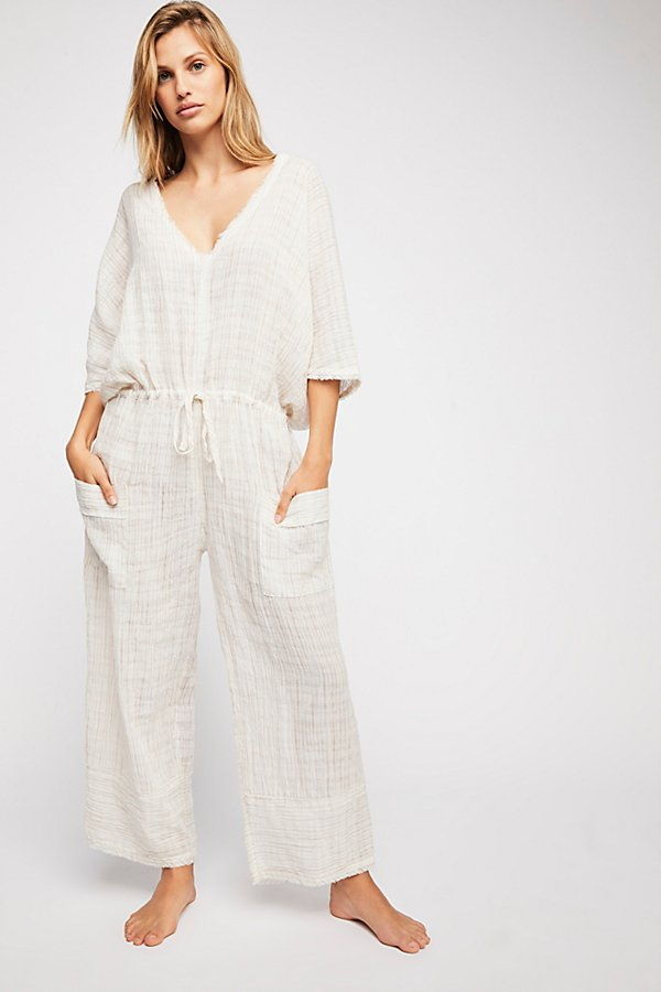 Slide View 2: On The Line Jumpsuit