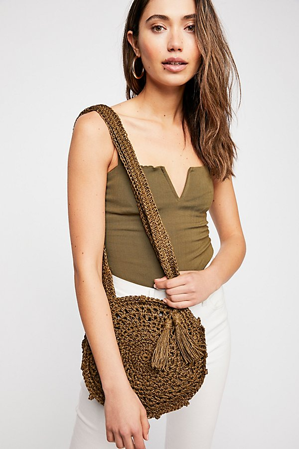 Slide View 1: Hot Tropics Straw Crossbody