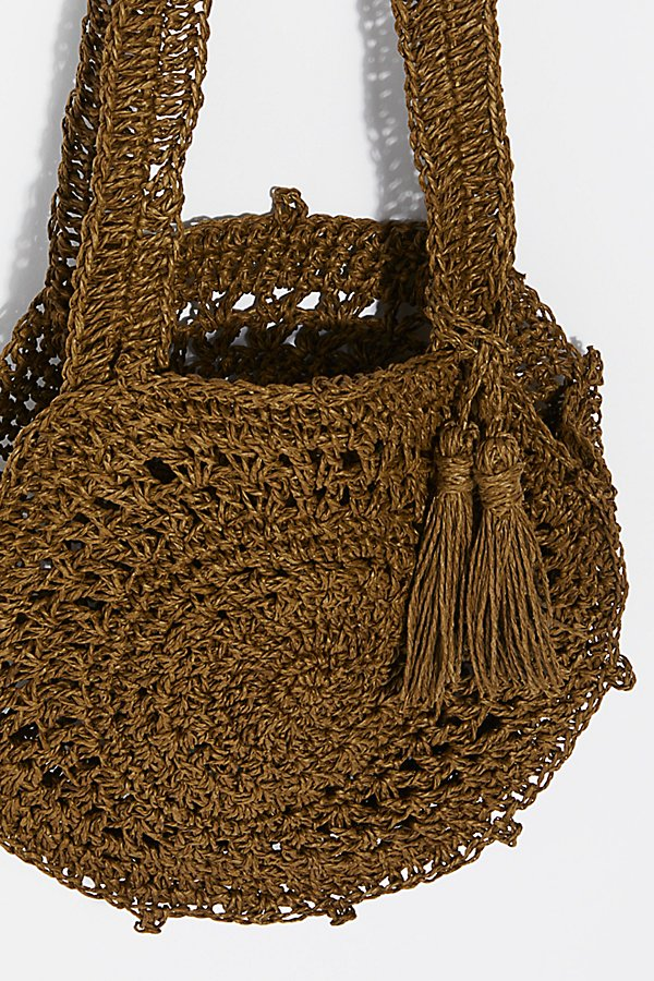 Slide View 5: Hot Tropics Straw Crossbody