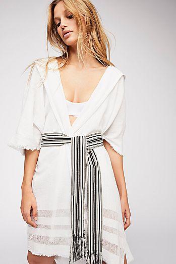 Easy Like This Linen Robe