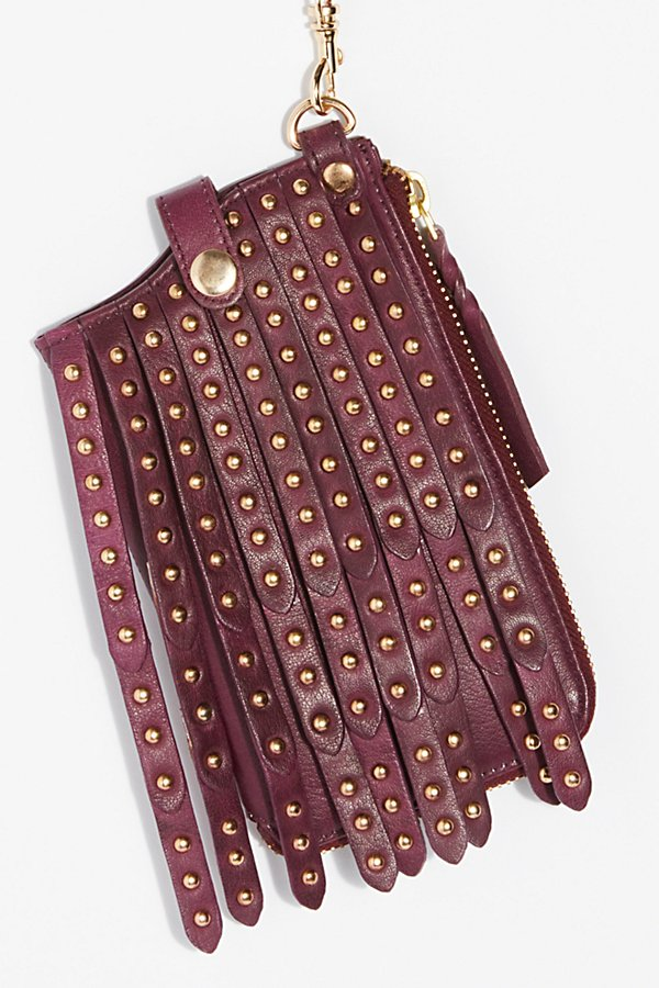 Slide View 3: Studded iPhone Wallet