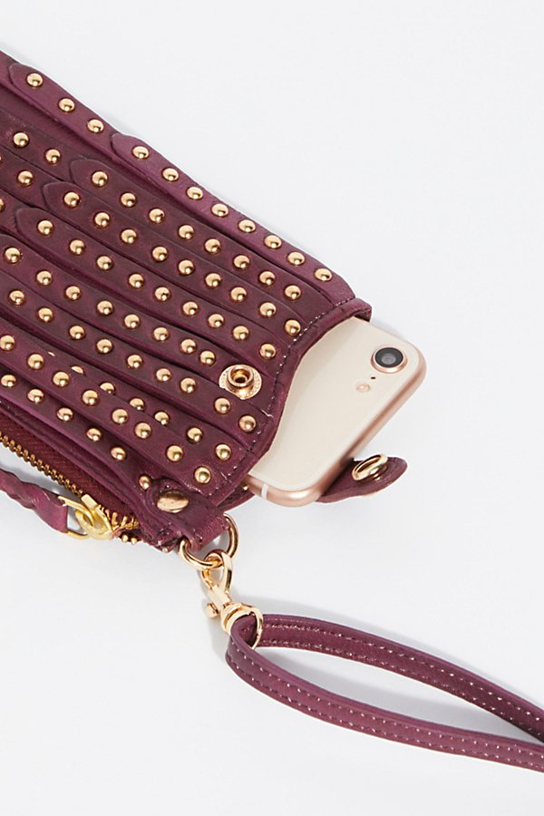 Slide View 5: Studded iPhone Wallet