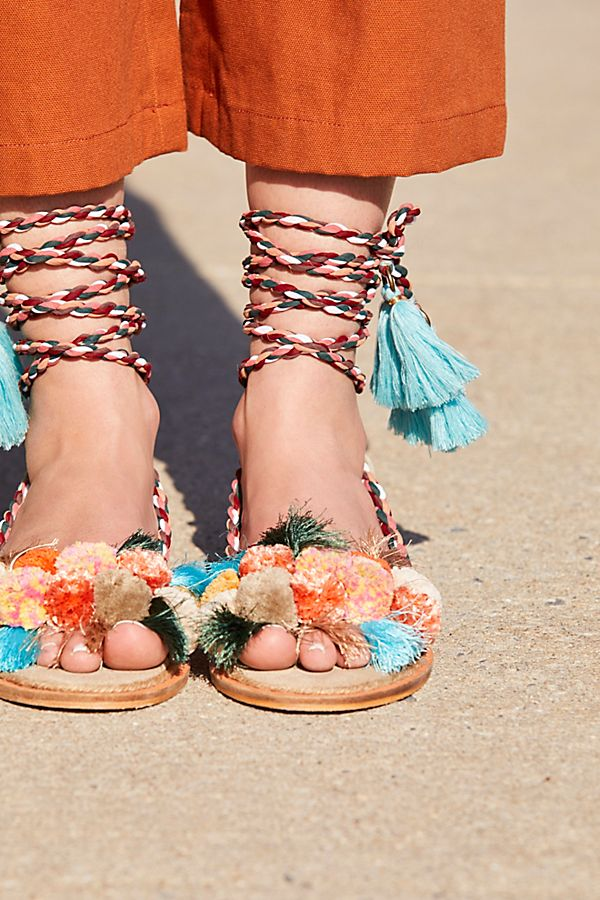 Aloha Wrap Sandal | Free People