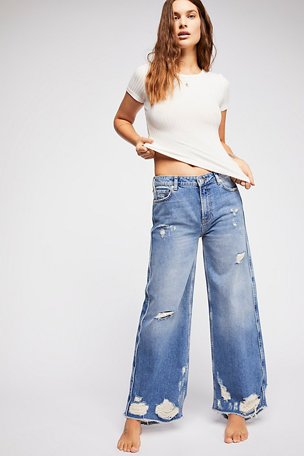 Slide View 3: Piper Wide-Leg Jeans