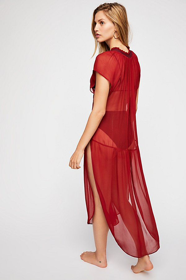 Slide View 2: Love Song Embroidered Maxi Top