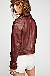 Thumbnail View 2: Avis Leather Jacket