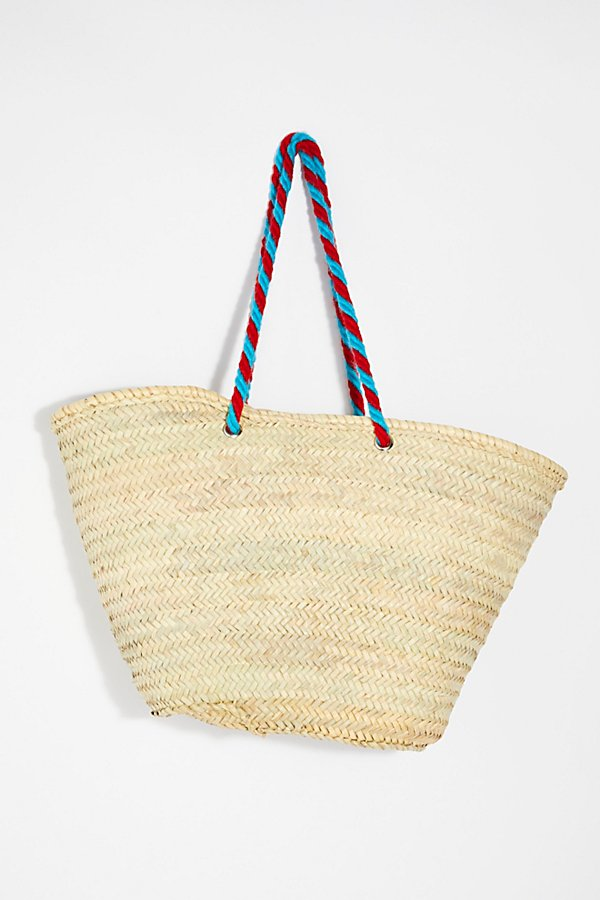 Slide View 4: Valencia Straw Tote