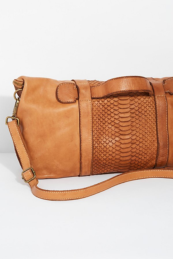 Slide View 4: Distressed Woven Messenger