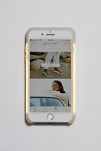 Selfie Light Core Two iPhone Case