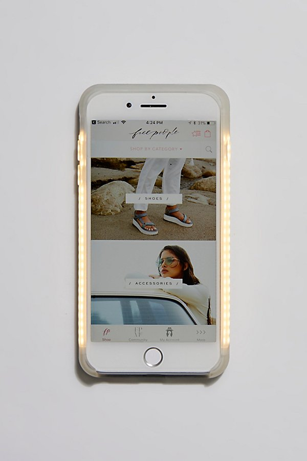 Slide View 2: Selfie Light Core Two iPhone Case