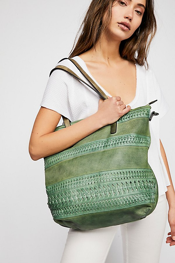 Slide View 1: Lora Washed Tote