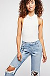 Thumbnail View 3: Maggie Mid-Rise Straight Leg Jeans