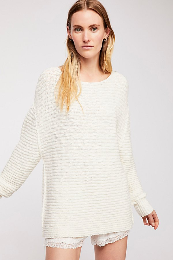 Slide View 2: Menace Solid Tunic Sweater