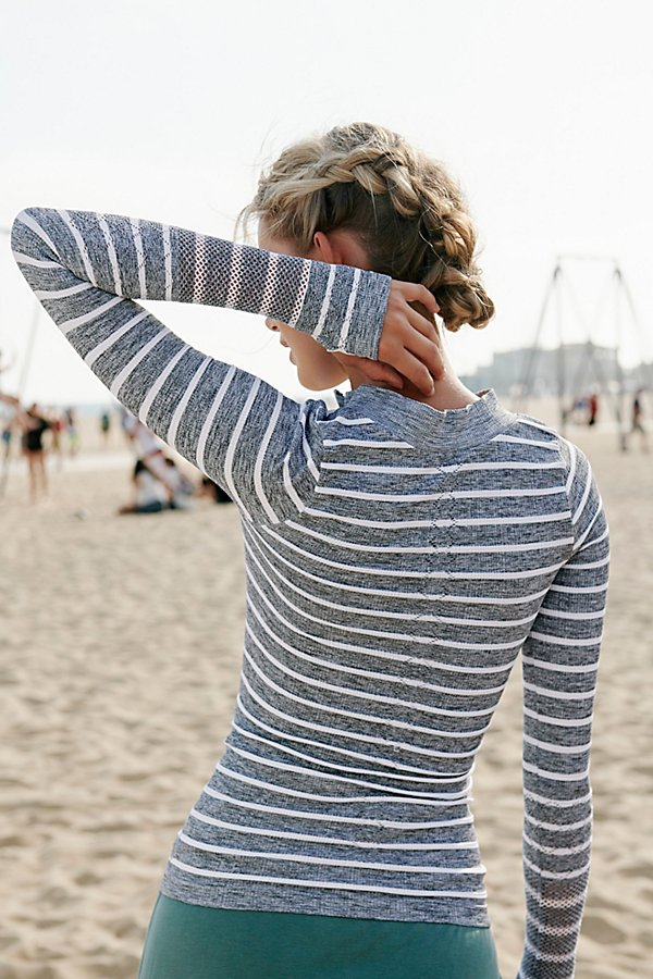Slide View 2: Striped Slay Top
