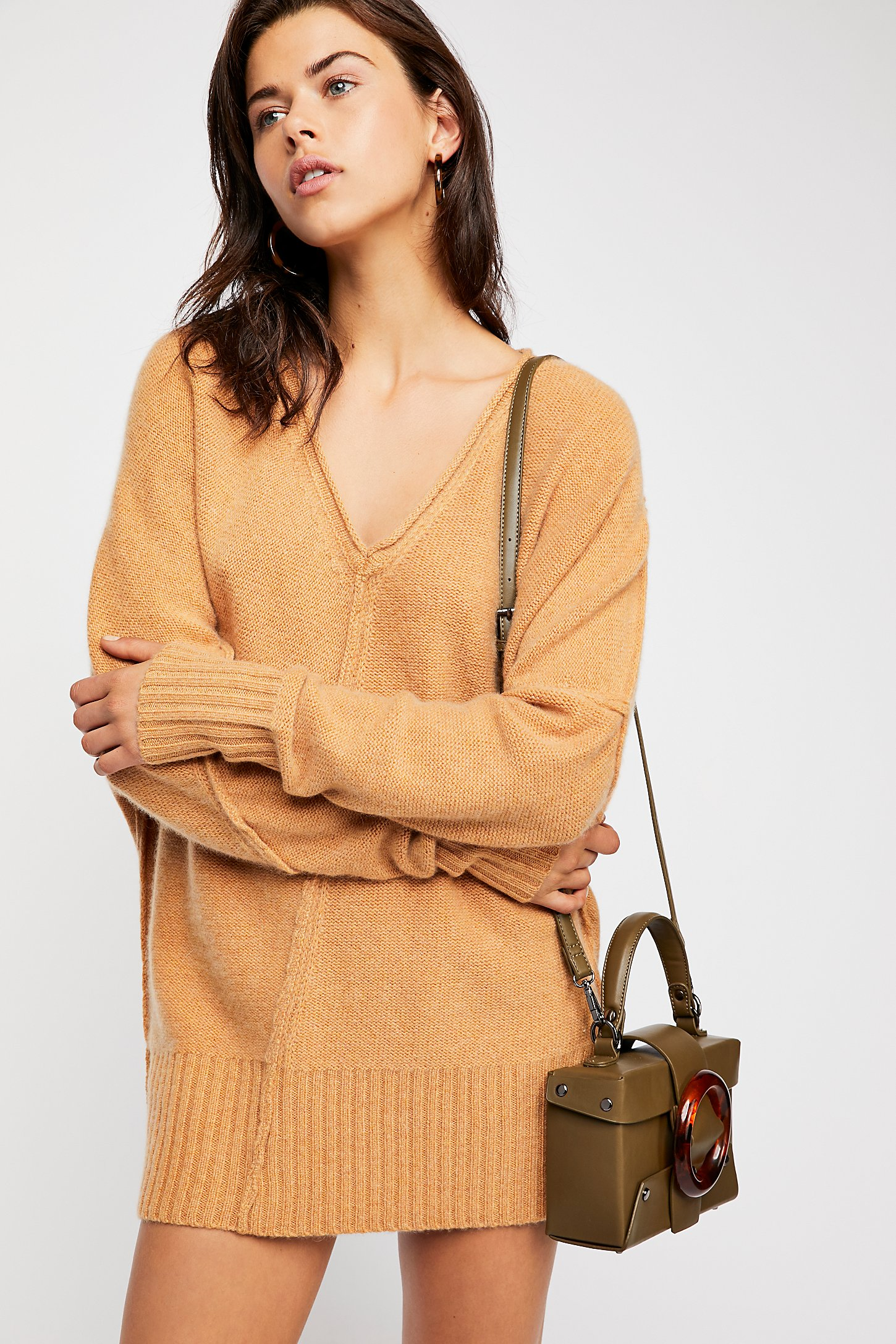 Cashmere Tunic Sweater | Free People
