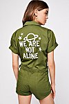 Thumbnail View 1: We Are Not Alone Romper