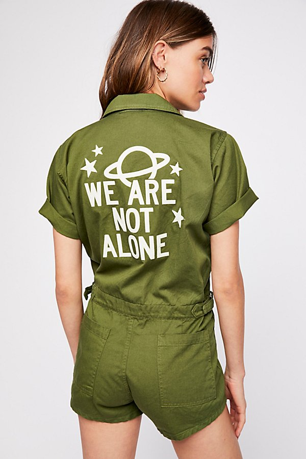 Slide View 1: We Are Not Alone Romper
