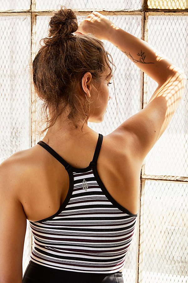 Slide View 3: Happiness Runs Stripe Tank