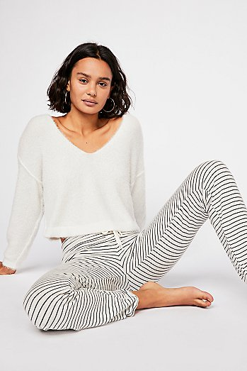 Supersoft Pinstripe Sweatpant