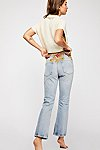 Thumbnail View 3: Novelty Straight-Leg Jeans