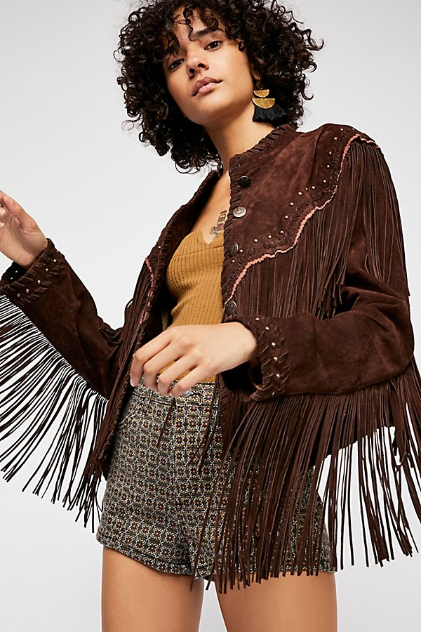 Slide View 1: Wild Skies Fringe Jacket