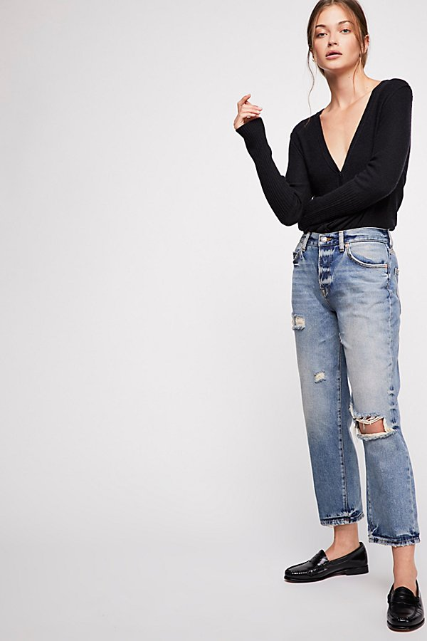 Slide View 1: Extreme Washed Boyfriend Jeans
