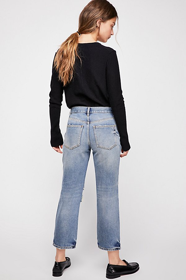 Slide View 2: Extreme Washed Boyfriend Jeans