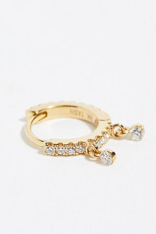 Diamond Eternity Single Earring With Dangle by Free People