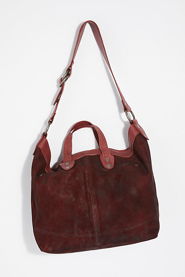 Slide View 4: We The Free Vintage Distressed Tote