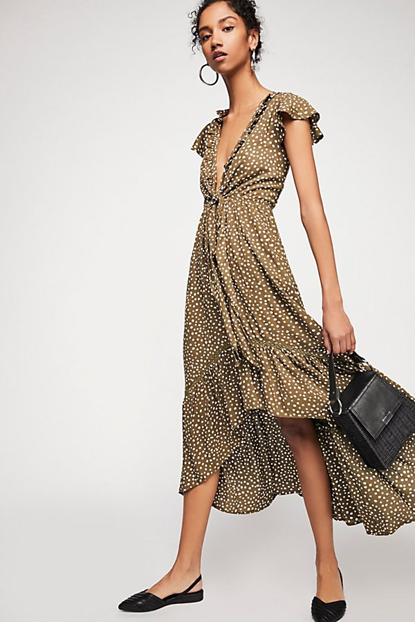 Slide View 1: Capri Tie-Up Midi Dress