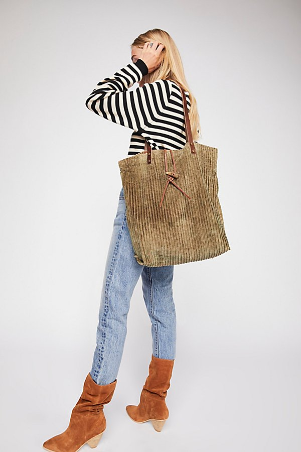 Slide View 1: We The Free Corduroy Washed Tote