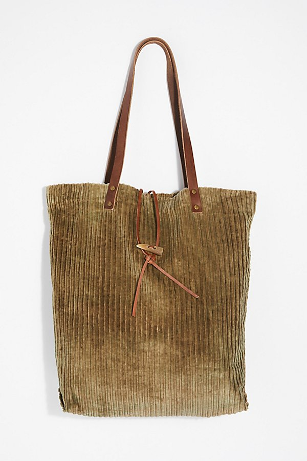Slide View 2: We The Free Corduroy Washed Tote