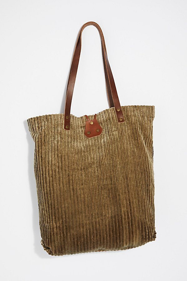 Slide View 4: We The Free Corduroy Washed Tote